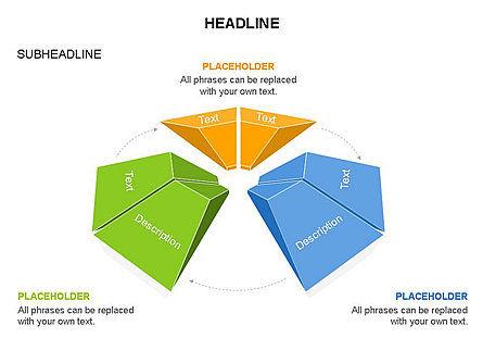 Cupola Diagram, Slide 25, 03442, Pie Charts — PoweredTemplate.com