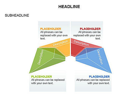Cupola Diagram, Slide 26, 03442, Pie Charts — PoweredTemplate.com