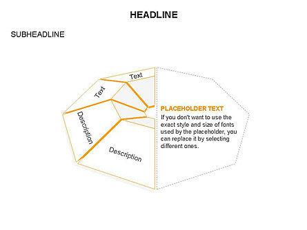 Cupola Diagram, Slide 27, 03442, Pie Charts — PoweredTemplate.com