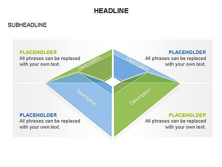 Cupola Diagram, Slide 28, 03442, Pie Charts — PoweredTemplate.com