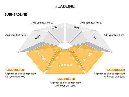 Cupola Diagram, Slide 29, 03442, Pie Charts — PoweredTemplate.com