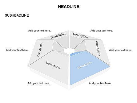 Cupola Diagram, Slide 3, 03442, Pie Charts — PoweredTemplate.com