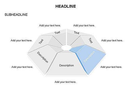 Cupola Diagram, Slide 4, 03442, Pie Charts — PoweredTemplate.com