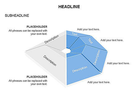 Cupola Diagram, Slide 7, 03442, Pie Charts — PoweredTemplate.com