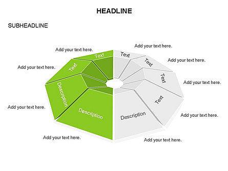Cupola Diagram, Slide 8, 03442, Pie Charts — PoweredTemplate.com