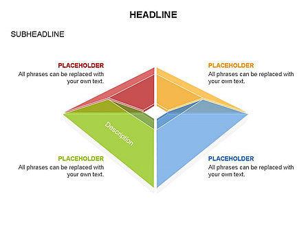 Cupola Diagram, Slide 9, 03442, Pie Charts — PoweredTemplate.com