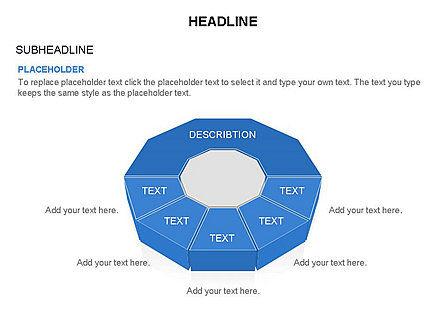Conglomerate Shapes, Slide 34, 03444, Shapes — PoweredTemplate.com