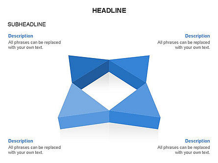 Geometric Shapes Triangles, Slide 12, 03445, Shapes — PoweredTemplate.com