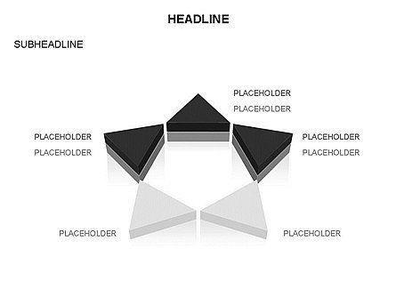 Geometric Shapes Triangles, Slide 19, 03445, Shapes — PoweredTemplate.com
