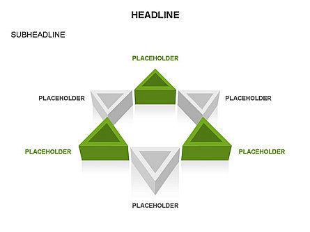 Geometric Shapes Triangles, Slide 24, 03445, Shapes — PoweredTemplate.com