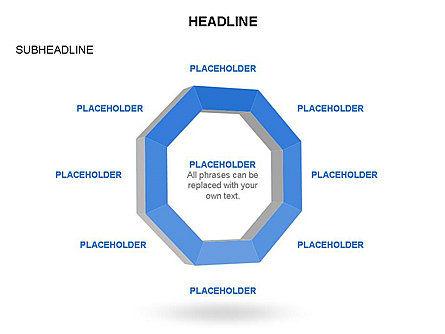Geometric Shapes Truncated Rectangle, Slide 31, 03446, Shapes — PoweredTemplate.com