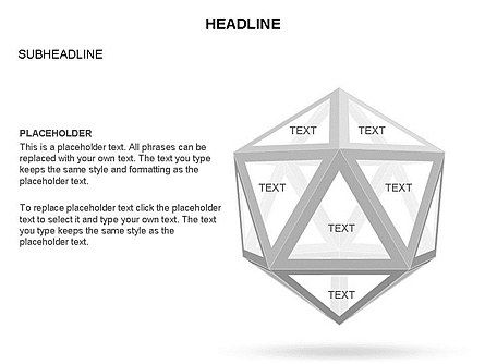 Wireframe Shapes , Slide 17, 03447, Shapes — PoweredTemplate.com