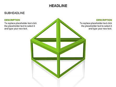Wireframe Shapes , Slide 34, 03447, Shapes — PoweredTemplate.com