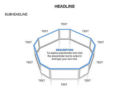 Wireframe Shapes , Slide 35, 03447, Shapes — PoweredTemplate.com