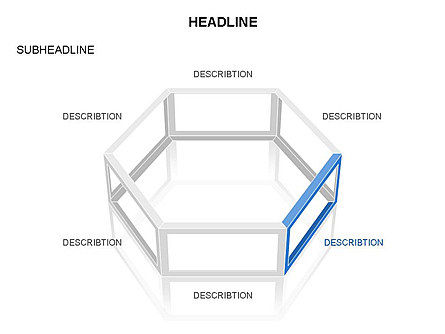 Wireframe Shapes , Slide 4, 03447, Shapes — PoweredTemplate.com