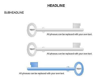 Key Shapes Toolbox, Slide 17, 03448, Shapes — PoweredTemplate.com