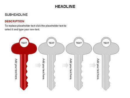 Key Shapes Toolbox, Slide 25, 03448, Shapes — PoweredTemplate.com