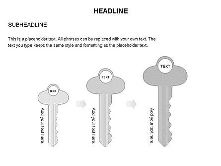 Key Shapes Toolbox, Slide 27, 03448, Shapes — PoweredTemplate.com
