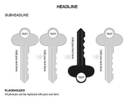 Key Shapes Toolbox, Slide 28, 03448, Shapes — PoweredTemplate.com