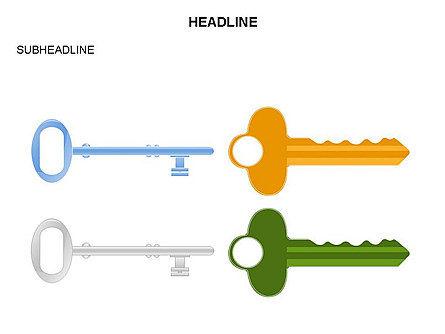Key Shapes Toolbox, Slide 31, 03448, Shapes — PoweredTemplate.com