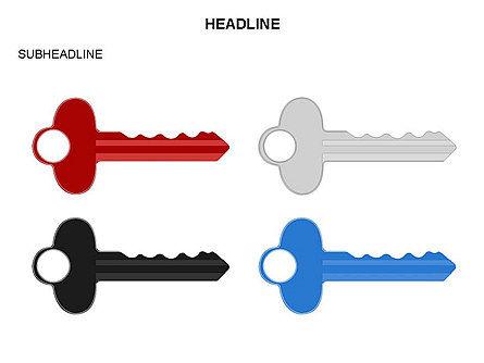 Key Shapes Toolbox, Slide 32, 03448, Shapes — PoweredTemplate.com