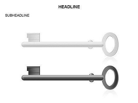 Key Shapes Toolbox, Slide 34, 03448, Shapes — PoweredTemplate.com