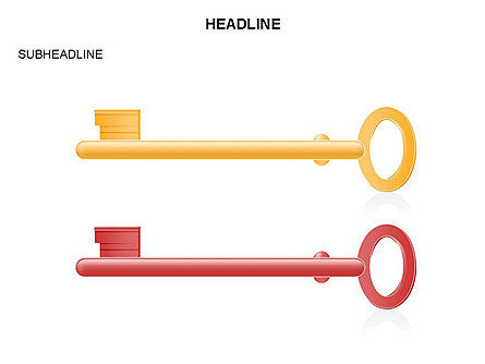 Key Shapes Toolbox, Slide 35, 03448, Shapes — PoweredTemplate.com