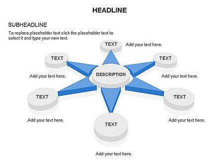 Petal Shapes Perspective, Slide 32, 03449, Shapes — PoweredTemplate.com