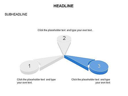 Petal Shapes Perspective, Slide 9, 03449, Shapes — PoweredTemplate.com