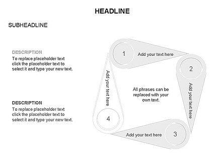 Petal Diagram Toolbox, Slide 12, 03450, Shapes — PoweredTemplate.com