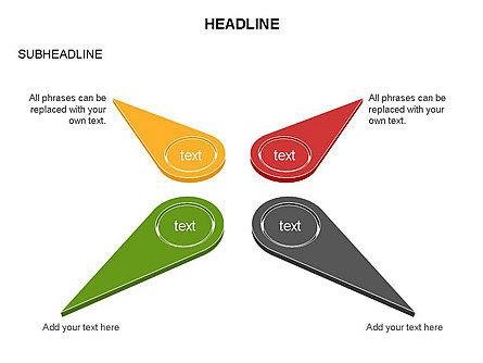 Petal Diagram Toolbox, Slide 13, 03450, Shapes — PoweredTemplate.com