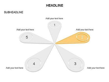 Petal Diagram Toolbox, Slide 14, 03450, Shapes — PoweredTemplate.com