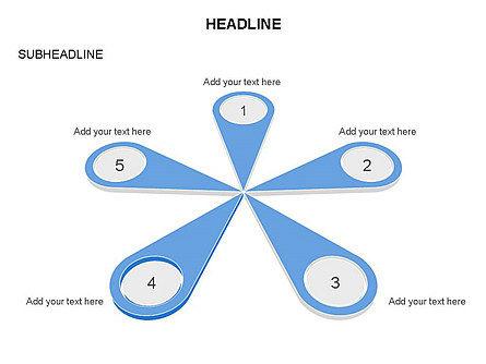 Petal Diagram Toolbox, Slide 16, 03450, Shapes — PoweredTemplate.com