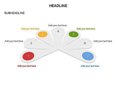 Petal Diagram Toolbox, Slide 21, 03450, Shapes — PoweredTemplate.com