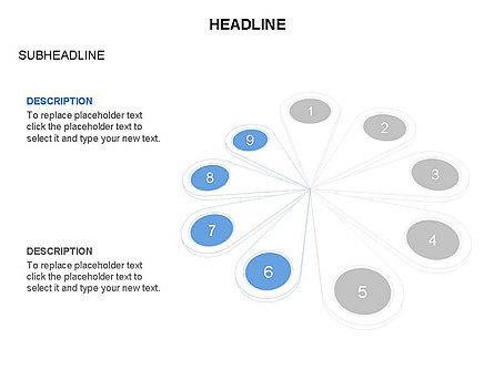 Petal Diagram Toolbox, Slide 26, 03450, Shapes — PoweredTemplate.com