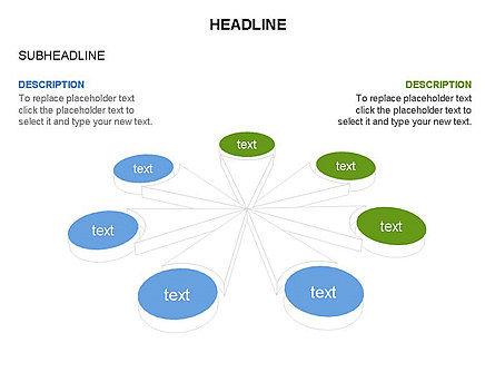 Petal Diagram Toolbox, Slide 30, 03450, Shapes — PoweredTemplate.com