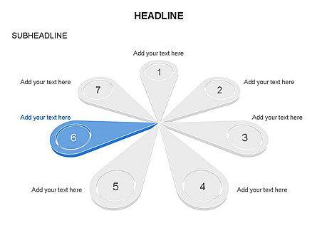 Petal Diagram Toolbox, Slide 5, 03450, Shapes — PoweredTemplate.com