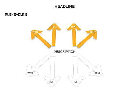 Arrows Collection, Slide 20, 03451, Process Diagrams — PoweredTemplate.com