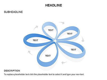 Petal Shapes Cycle Diagram, Slide 12, 03457, Stage Diagrams — PoweredTemplate.com