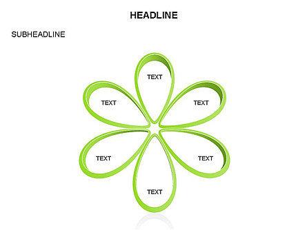 Petal Shapes Cycle Diagram, Slide 13, 03457, Stage Diagrams — PoweredTemplate.com