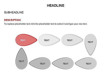 Petal Shapes Cycle Diagram, Slide 19, 03457, Stage Diagrams — PoweredTemplate.com