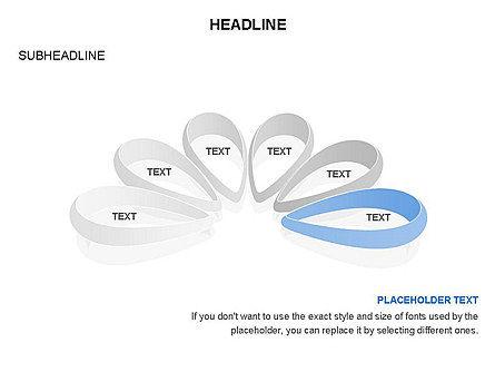 Petal Shapes Cycle Diagram, Slide 28, 03457, Stage Diagrams — PoweredTemplate.com
