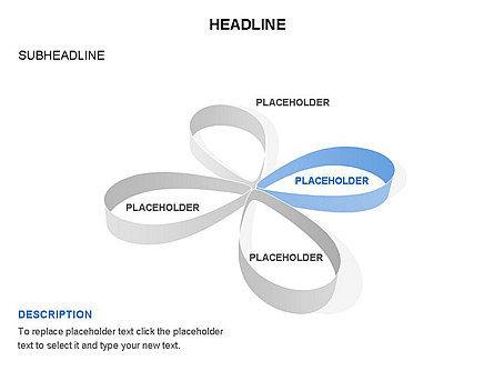 Petal Shapes Cycle Diagram, Slide 9, 03457, Stage Diagrams — PoweredTemplate.com