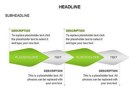 Ink Pen Shape Diagrams, Slide 12, 03460, Business Models — PoweredTemplate.com