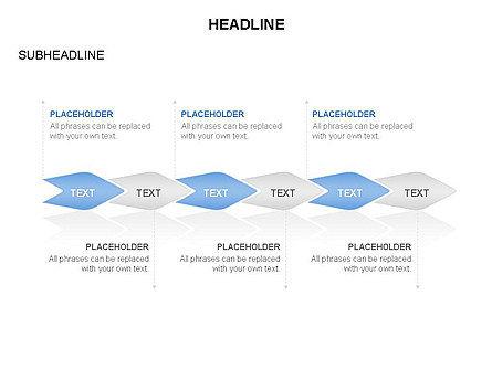 Ink Pen Shape Diagrams, Slide 15, 03460, Business Models — PoweredTemplate.com