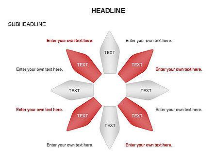 Ink Pen Shape Diagrams, Slide 16, 03460, Business Models — PoweredTemplate.com