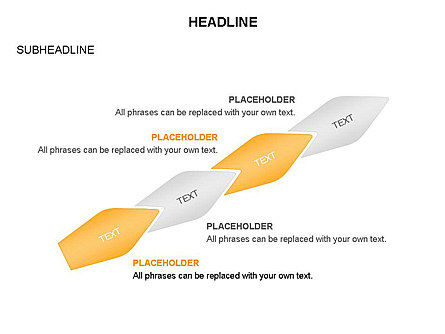Ink Pen Shape Diagrams, Slide 7, 03460, Business Models — PoweredTemplate.com