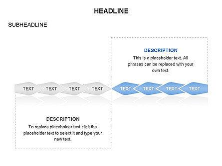 Ink Pen Shape Diagrams, Slide 8, 03460, Business Models — PoweredTemplate.com