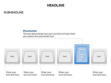 Plates Diagram Toolbox, Slide 10, 03464, Shapes — PoweredTemplate.com