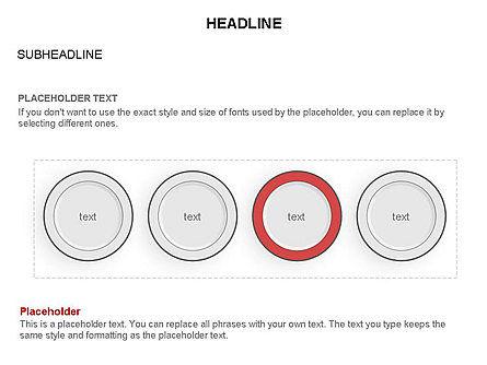 Plates Diagram Toolbox, Slide 11, 03464, Shapes — PoweredTemplate.com